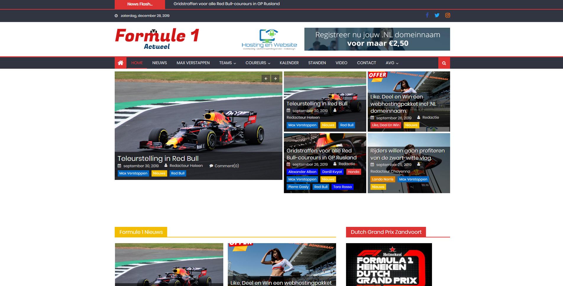 Formule1 Actueel